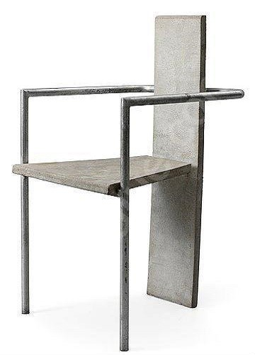 Modern Concrete Chairs
