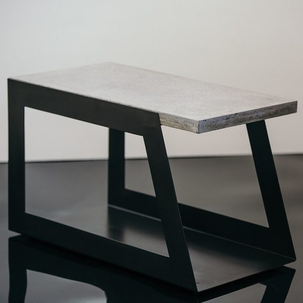 Layback Concrete Coffee Table