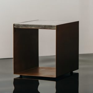 U Shape Concrete Side Table