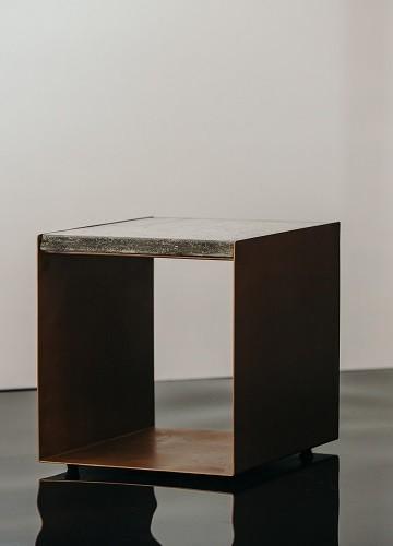 U Shaped Side Table